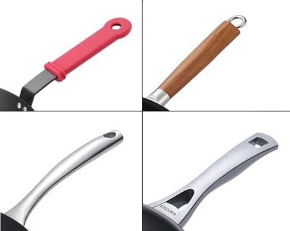 4 different types of handles