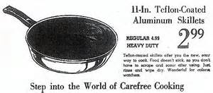 Teflon Cookware Advert