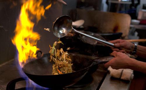flaming-wok